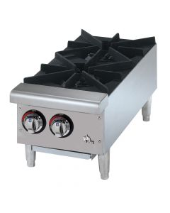 Star 602HF Star-Max Gas 2 Burner Hot Plate