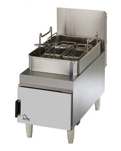 Star 615FF Star-Max 15 lb Natural Gas Countertop Commercial Deep Fryer