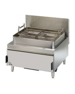 Star 630FF Star-Max 30 lb Natural Gas Countertop Commercial Deep Fryer