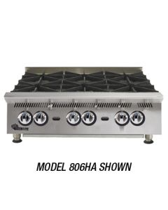 "Star 48"" Ultra-Max Gas Hot Plate, 8 Burners"