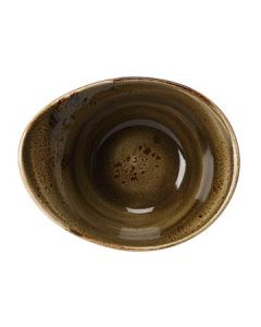 Steelite 11320524 Craft 14.5 oz Brown Freestyle Bowl