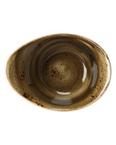Steelite 11320525 Craft 4 oz Brown Freestyle Bowl