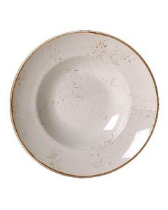 Steelite 11550372 Craft White 15 oz Round Nouveau Bowl