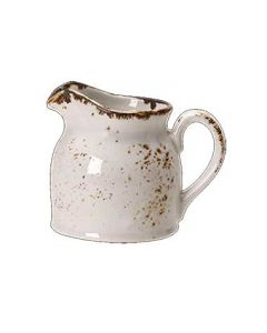 Steelite 11550387 Craft White 5 oz Handled Club Jug