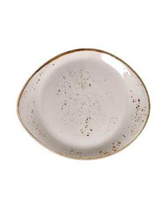 "Steelite 11550521 Craft White 10"" Freestyle Plate"