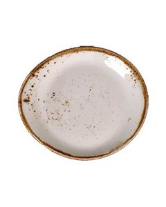 "Steelite 11550522 Craft White 6"" Freestyle Plate"