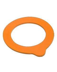 Steelite 4949Q448 Orange Gasket for 6 oz. Fido Jar