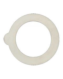 Steelite 4949Q449 White Gasket for 6 oz. Fido Jar