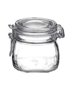 Steelite 4949Q457 19 oz. Fido Clear Storage Jar