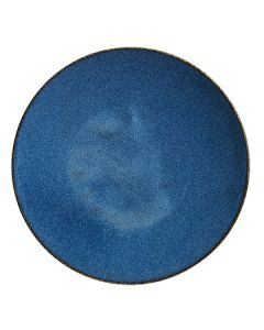 """Steelite 6414MY008 Wabi Sabi Indigo 9-1/2"""" Coupe Plate (Currently Out Of Stock)"""