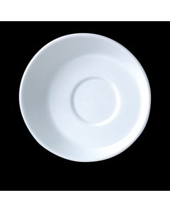 "Steelite 9001C635 Sheer White 4-5/8"" Saucer"