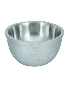 Tablecraft RB11 Remington 5 Qt Stainless Steel Round Double Wall Bowl