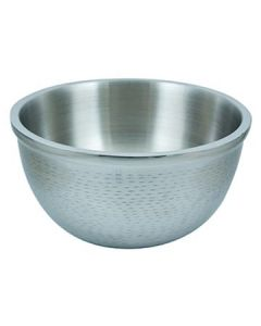 Tablecraft RB13 Remington 8 Qt Stainless Steel Round Double Wall Bowl