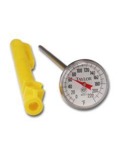 Taylor Precision 3621N 0-220F Anti-Microbial Pocket Thermometer