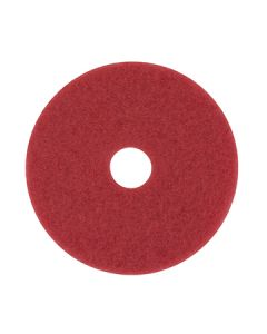 """3M 5100 17"""" Red Buffing Pad"""