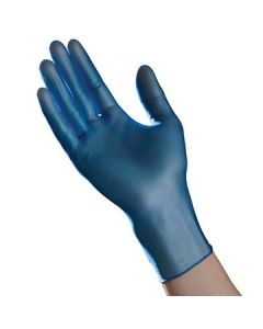 Tradex VLG5201B Ambitex Powder Free Blue Vinyl Gloves - Large (Currently out of Stock)