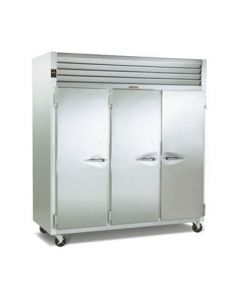 Traulsen G31011 3-Section Solid Door Reach-In Freezer, L-L-R Hinged