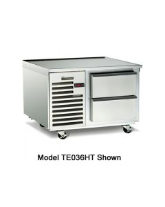 "Traulsen TE036HT 36"" 2-Drawer Refrigerated Equipment Stand"