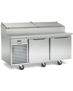 """Traulsen TS066HR Two-Section 66"""" Remote Refrigerated Prep Table"""