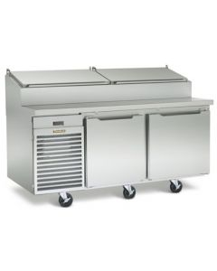 """Traulsen TS072HR Two-Section 72"""" Remote Refrigerated Prep Table"""