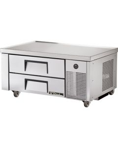 "True TRCB-48 48-3/8""L Refrigerated Chef Base - 2 drawers"