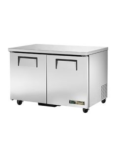 """True TUC-48-HC 49"""" Two Section Undercounter Refrigerator"""