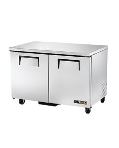 """True TUC-48F-HC 49"""" Two Section Undercounter Freezer"""