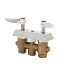 T & S Brass Concealed Mixing Faucet, lever handles