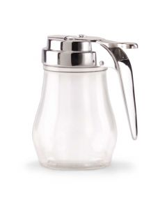 Vollrath 1206 7-Ounce Plastic Serving Jar With Chrome-Plated Top