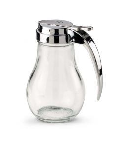 Vollrath 214 14-Ounce Traex Dripcut Glass Server With Chrome-Plated Top