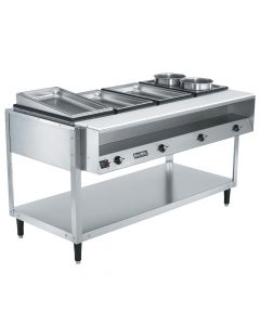 Vollrath 38004 ServeWell Four Pan 700W/120V Electric Hot Food Table