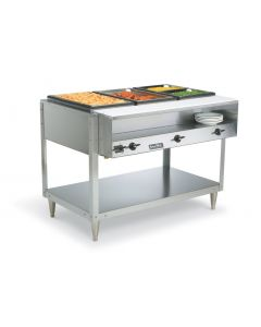 Vollrath 38104 ServeWell Four Pan 480W/120V Electric Hot Food Table