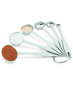 Vollrath 46588 Stainless Steel Oval Measuring Spoon Set