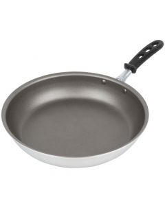 Vollrath 67812 12-Inch Wear-Ever Aluminum Fry Pan With Powercoat2 Nonstick Coating And Trivent Silicone Handle
