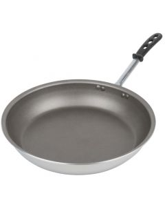 Vollrath 67814 14-Inch Wear-Ever Aluminum Fry Pan With Powercoat2 Nonstick Coating And Trivent Silicone Handle