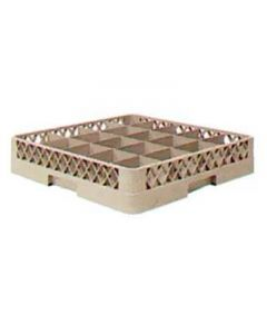 Vollrath TR5A Traex Full-Size 20-Compartment Beige Cup Rack