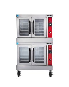 Vulcan Hart VC44ED Double Deck Electric Convection Oven