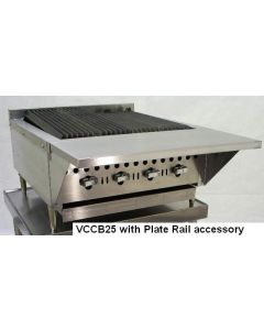 "Vulcan VCCB25 25"" Gas Charbroiler - Cast Iron Radiants"