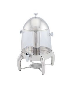 Walco WI12JD Idol 10.5 qt Juice Dispenser w/Stainless Top and Base