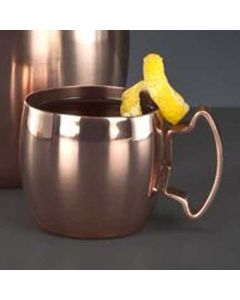 World Tableware CMM-101 2 oz Copper Plate Moscow Mule Shot Cup
